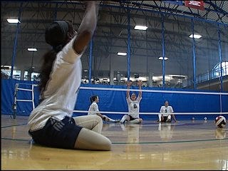 Local volleyball team goes for gold
