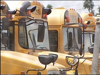 School districts consider rerouting buses