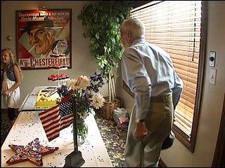 World War II vet celebrates 90th birthday