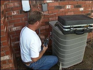 AC repairmen staying busy