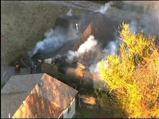 House Blazes in Del City