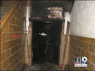 Ada School Fire Investigation Continues