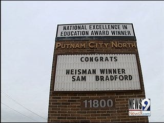 Bradford's High School Celebrates His Heisman Win