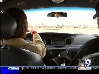 Driving Skills Tested On Ice