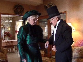 Guthrie's Victorian Walk Celebrates Christmas Past