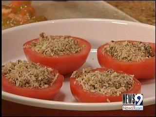 Baked Greek Tomatoes