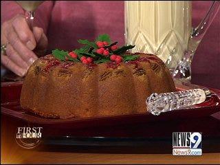 Braum's Eggnog Cake