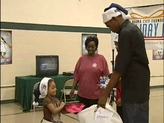 Durant Grants Metro Children Warmth for Holidays