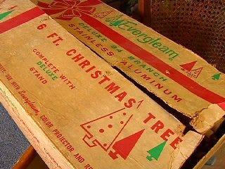 Aluminum Christmas Trees Making a Comeback