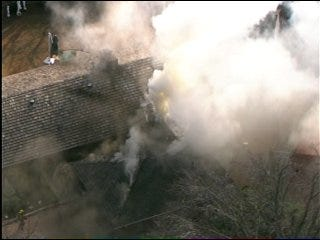 Oklahoma City House Blazes