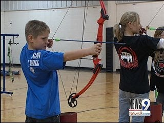 School Takes Aim with Archery Program