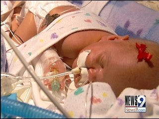 Healing Mother Tends to Neonatal ICU