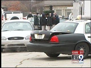Oklahoma City Bomb Squad Searches Home