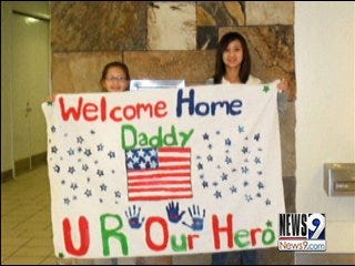 Father's Return from Iraq Helps Son's Illness