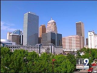 Mayor Mick Cornett Sees State Revenue Drop