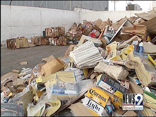 Recyclables in Metro Ending Up in Landfills