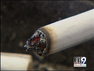 Cigarettes in Oklahoma Become 'Fire Safe'
