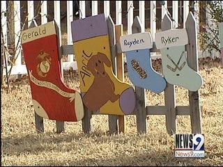 Holiday Grinch Plagues Harrah, Oklahoma