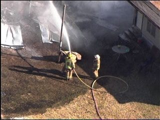 3 Buildings Damaged by Metro Fires