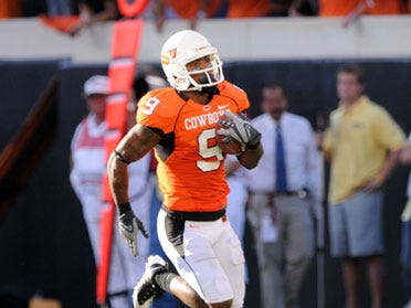 WR Broadway Kicked off Oklahoma St. Football Team