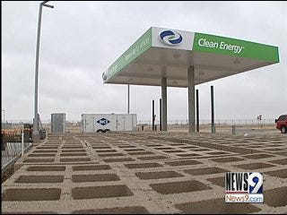 Airport to Receive Compressed Natural Gas Station