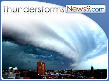 N. Texas storm knocks out power, wrecks homes