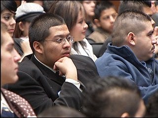 Latino community reaches out to youth