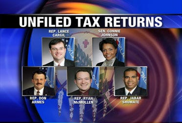 State lawmakers can be fired for late taxes
