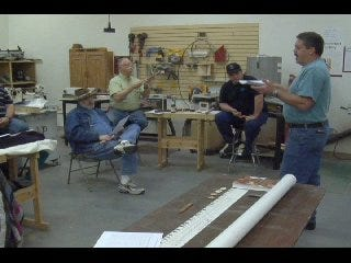 Flute maker teaches Native American craft