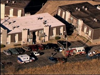 Woman shot at OKC apartment complex