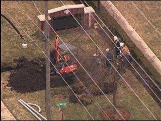 Gas leak forces elementary school evacuation