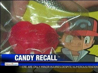 Valentine's Day Candy recalled