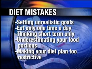 Five ways diets are sabotaged