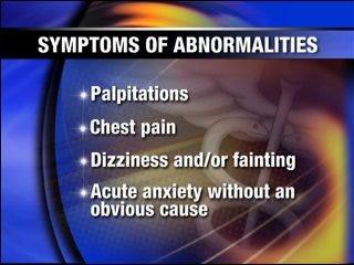 Warning signs of heart rhythm problems in children