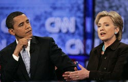 Clinton, Obama squared off in Thursday debate