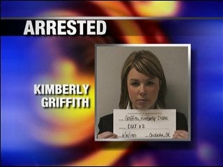 Woman faces DUI charges after hitting 2 parked cars