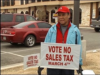 Oklahomans speak out about penny sales tax