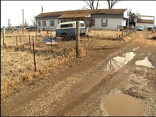 Man blames county for flooding problem