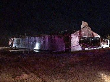Fire destroys former Saddle Club in Chickasha