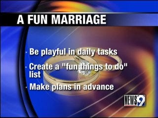 Have fun in your marriage
