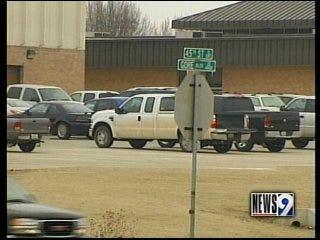 Man charged in school lockdown
