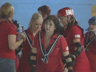 Roller derby team smashes at national level