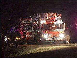 Driver thrown from car near Lake Overholser
