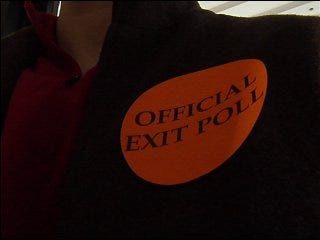 OU students conducted exit polls