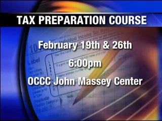 Tax Preparation Course offers help