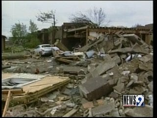 Homeland Security Secretary visited destruction in Tennessee