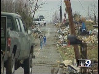 Oklahoma Red Cross volunteers travel south