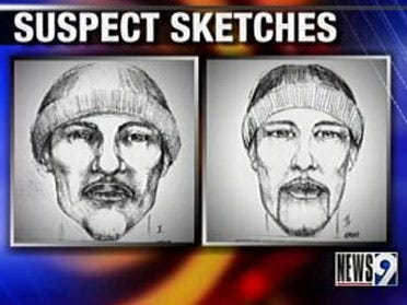 Police release suspects' sketches