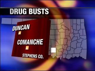 20 people arrested in drug busts