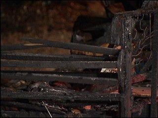 Cigarette sets apartment ablaze